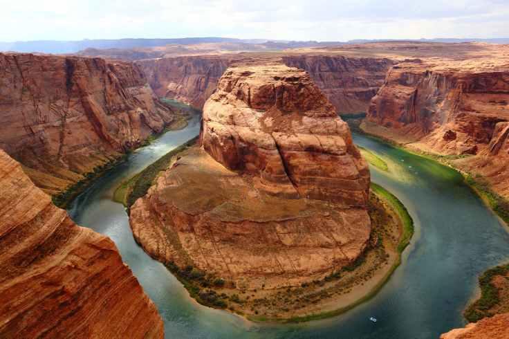 canyon cliff curve desert
