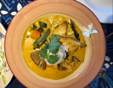 Curry at Mama's Fish House