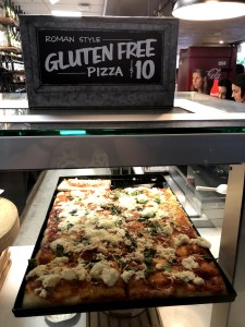 GF pizza at Petco Park