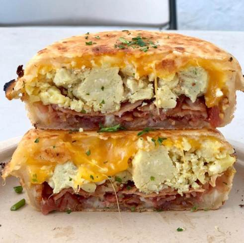 The Brazilian Guys stuffed hashbrowns