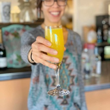 Mimosa at Jewel's Bakery and Cafe